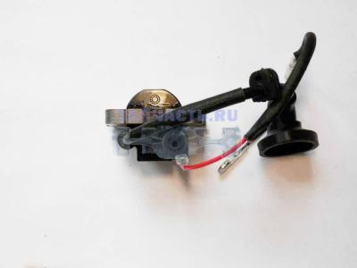 Зажигание в сборе мотокосы BC/GBC-033 (L в/в провода 160мм, колпачок 90 град.)