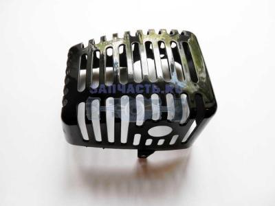 Корпус глушителя мотокосы BC-F-430/520 (CARVER 043, 052)