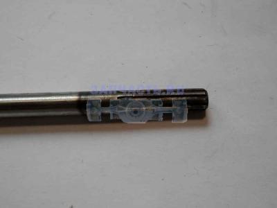 Вал штанги разъемной мотокосы верхний (763мм, d8, 9 шлицов, Шлиц-Шлиц)