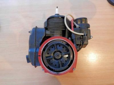 Двигатель Бензопила Урал без стартера